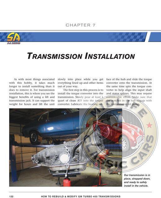 turbo 400 rebuild book
