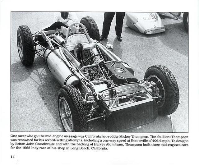 Indy Cars of the 1960s INDIANAPOLIS 500 Novis Thompson Brabhams STP turbine OFFY | eBay