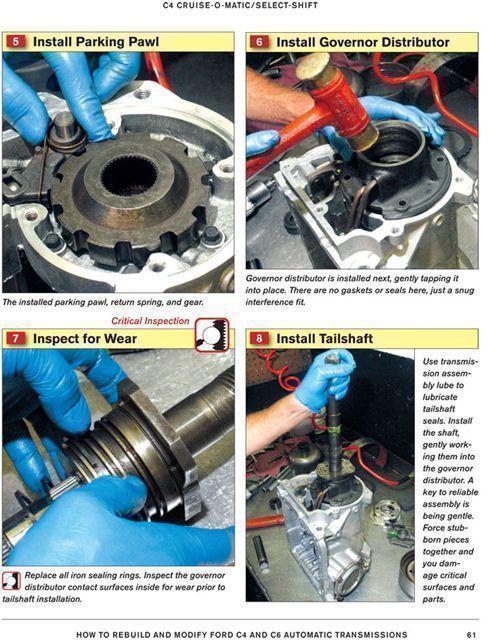 transmission rebuild manuals