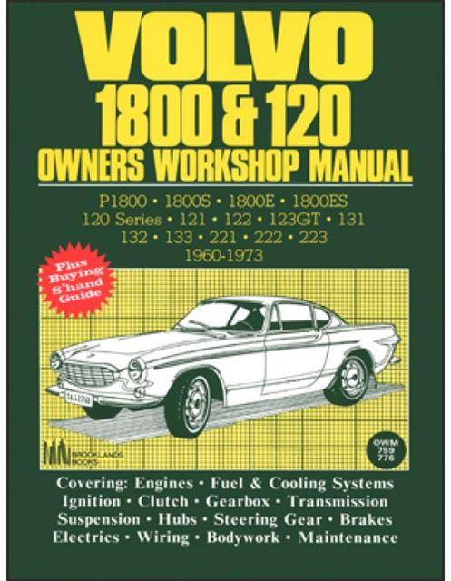 volvo p1800 p1800es p1800e shop manual 121 122 123gt 131 132 133 222 rh ebay com Volvo Manual Jpg 04 Volvo S40 Manual