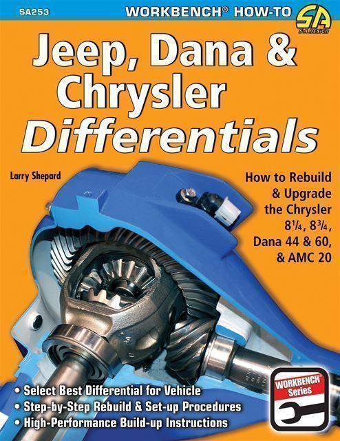 Details about Rebuild Setup Manual Mopar Rear End 8 25, 8 75 & Dana 60  Axles Book Amc 20