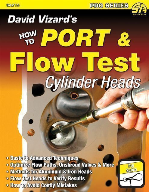 Details about How To Port Flow Test Cylinder Heads Ford 289 302 351 390 427  428 Vizard