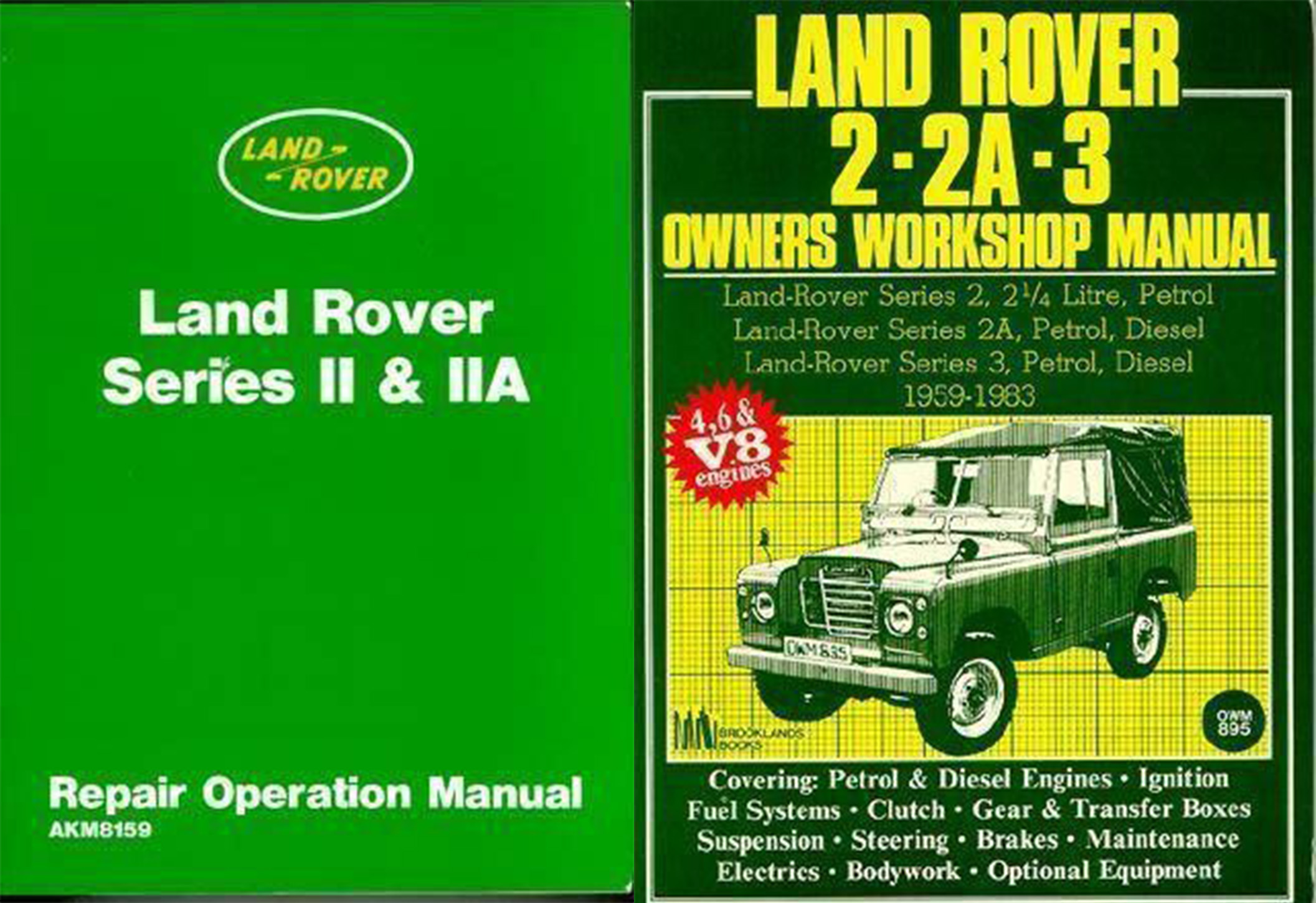 Factory Land Rover 2