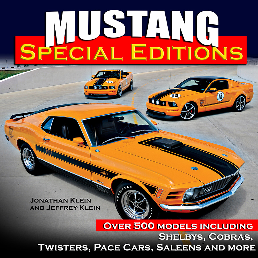 Sentinel mustang special editions shelbys ford book klein