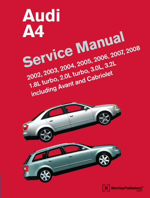 audi a4 b6 b7 service workshop repair manual 2002 2008 1 8l 2 0l rh ebay com audi b6 manual pdf audi b6 manual swap