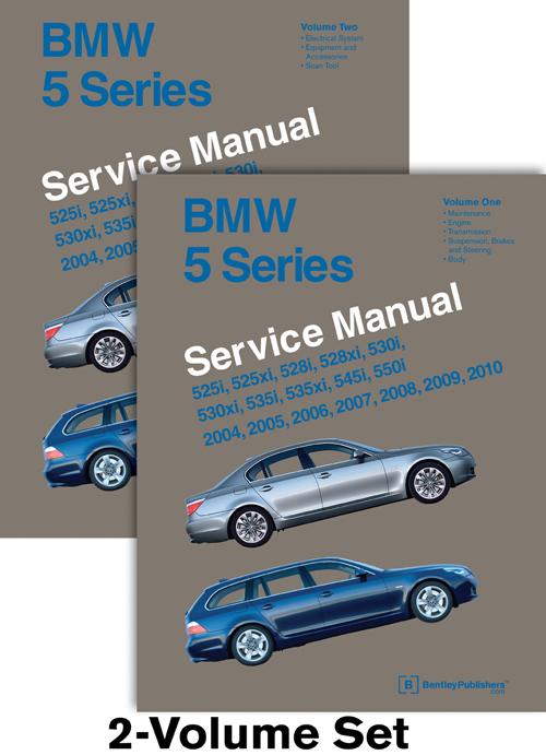 bmw 5 series e60 e61 service repair manual 2004 2010 525 530 528i rh ebay co uk service manual for bmw 528i 2004 BMW 745Li Repair Manuals