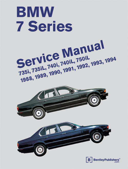 bmw repair workshop manual 7 series e32 1988 1994 735i 735il 740i rh ebay com bmw service manual 1995 bmw service manual 1995