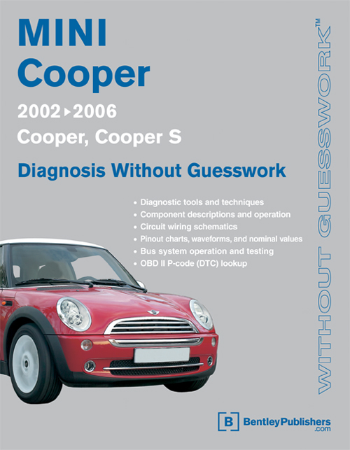 mini cooper shop manual diagnosis repair service book 2002 2006 rh ebay com Psychiatric Diagnostic Manual DSM -5