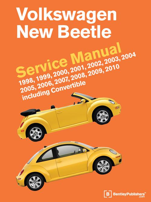 1998 2010 beetle shop manual service repair book bentley volkswagen rh ebay com 2009 volkswagen new beetle owners manual 2009 volkswagen beetle owners manual pdf