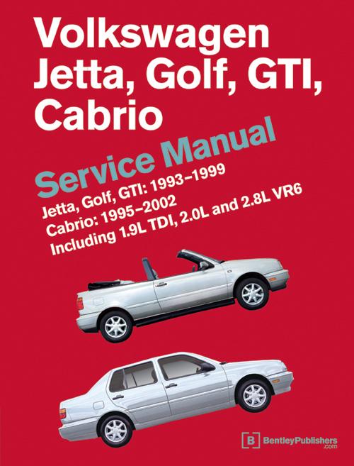 1993 1999 volkswagen jetta golf gti 1995 2002 cabrio service rh ebay com 1996 VW GTI 2.0 Turbo 1996 VW GTI VR6