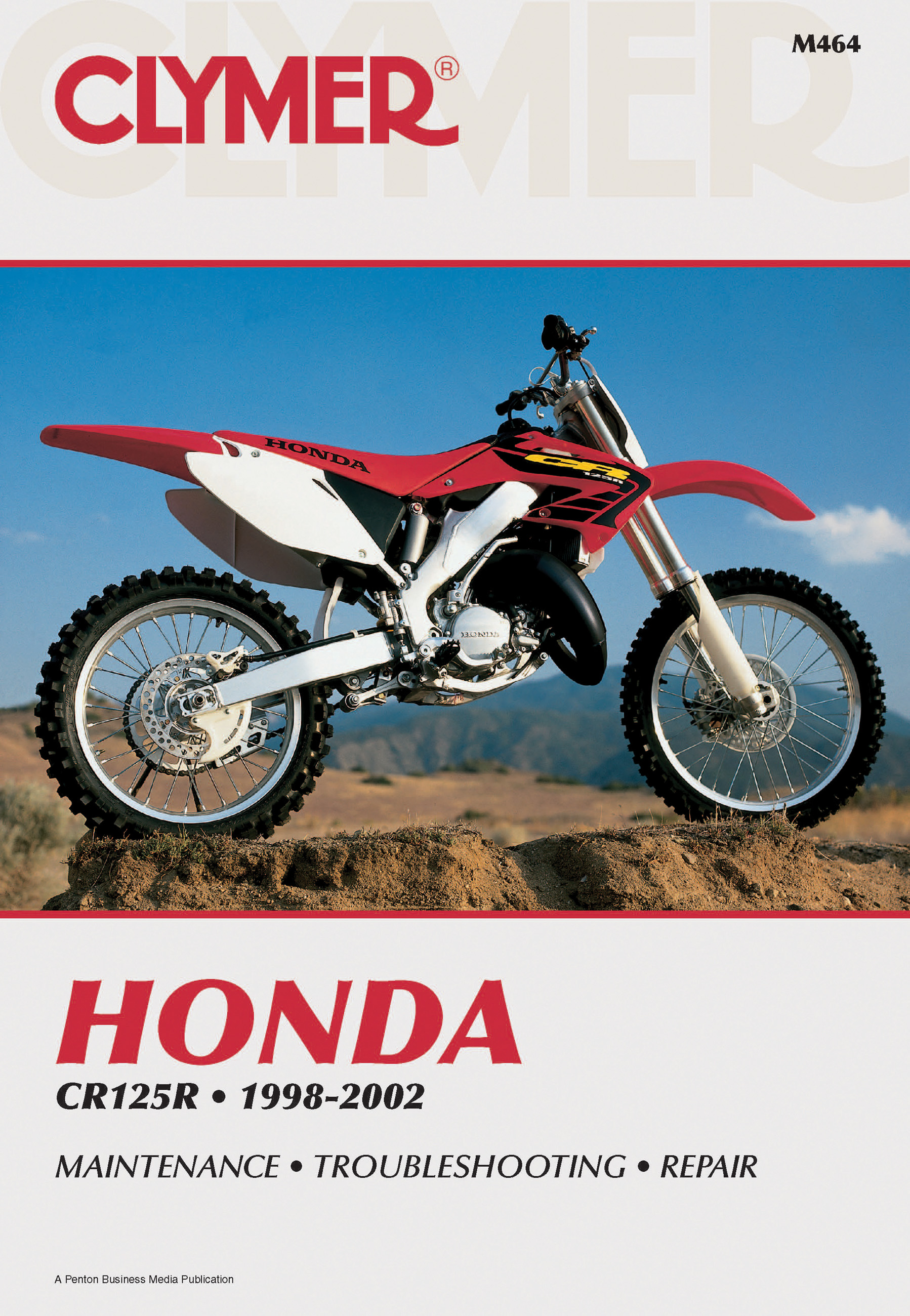 Sentinel Honda CR125 1998-2002 REPAIR SERVICE SHOP MANUAL CYLMER CILTON  HAYNES BOOK
