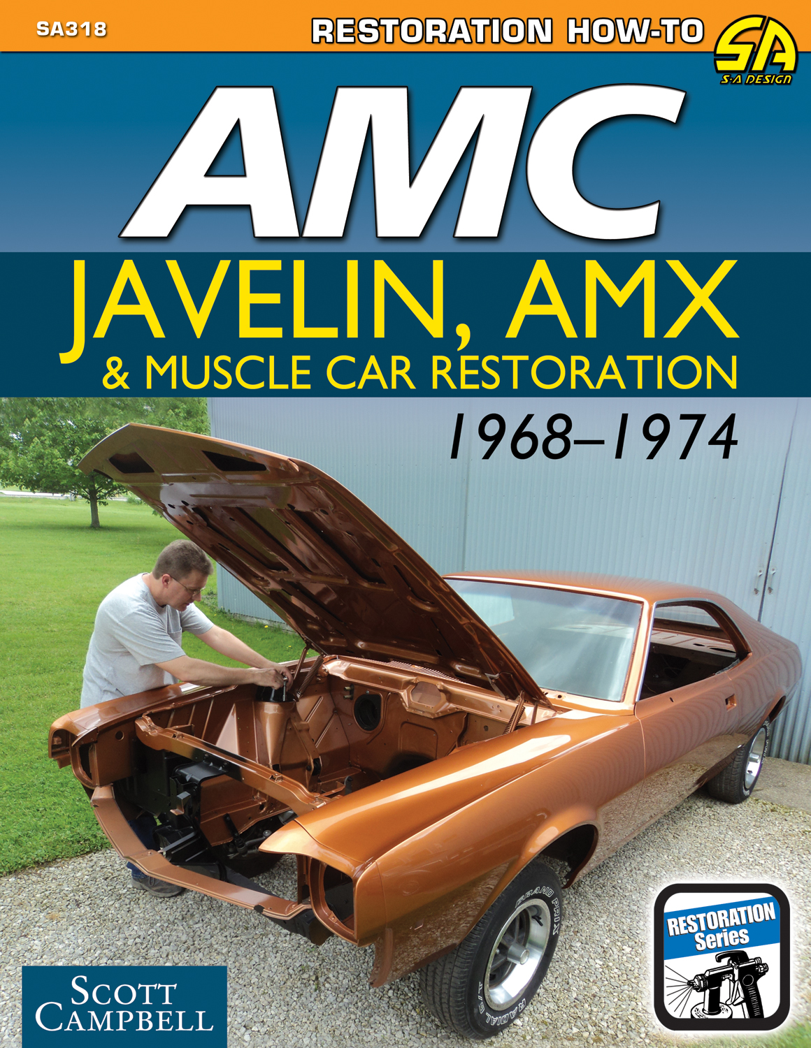 Car Restoration Manual Free Wiring Diagram For You Triumph Stag Amc Javelin Amx 1968 74 Muscle Guide Rh Ebay Com Wheeler Dealers