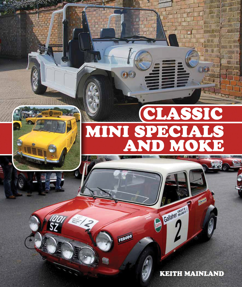 Classic Mini Specials Moke AUSTIN RALLY RACE CARS COOPER MORRIS BOOK ...