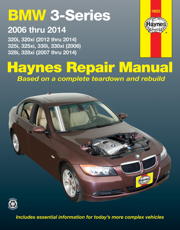 Sentinel BMW 320i 320xi 325i 325xi 330i 330 SHOP REPAIR SERVICE MANUAL  HAYNES BOOK