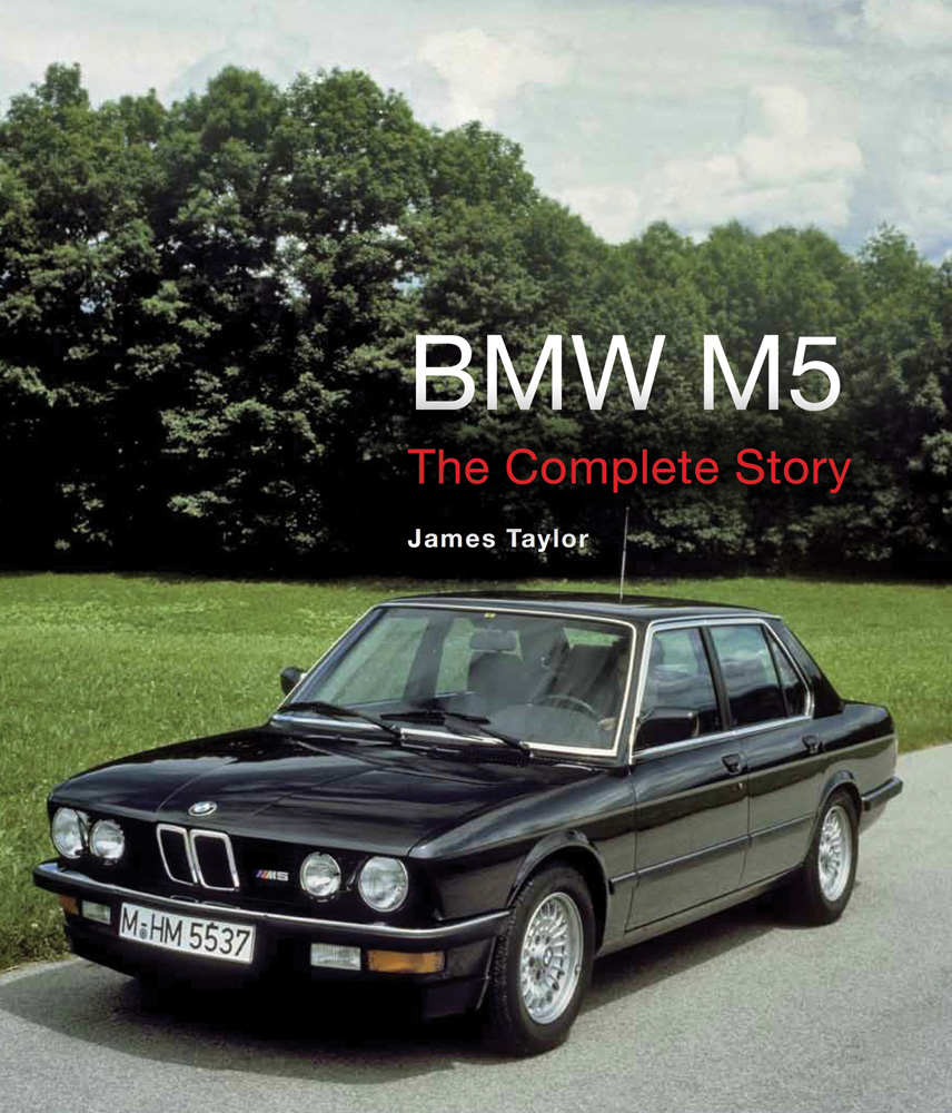 bmw m5 the complete story e28 e34 e39 e60 e61 f10 v10 developments book taylor ebay. Black Bedroom Furniture Sets. Home Design Ideas