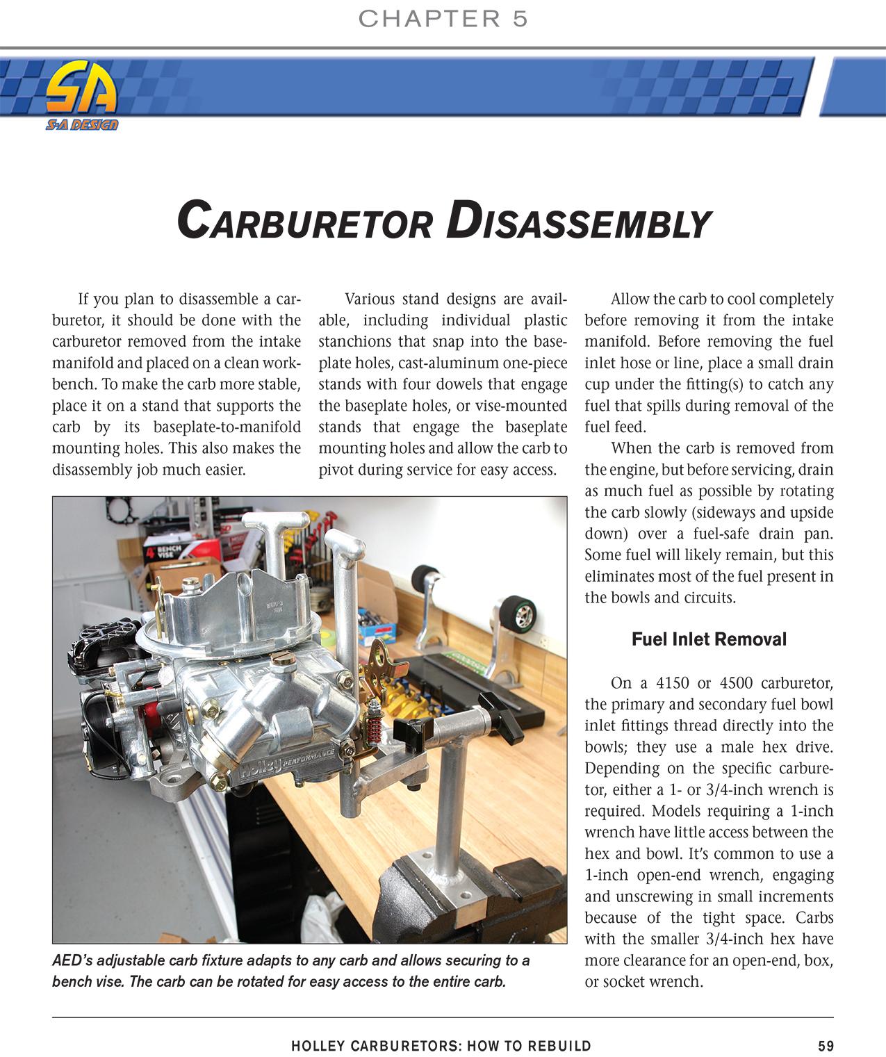 Holley 4165 carburetor repair Manual