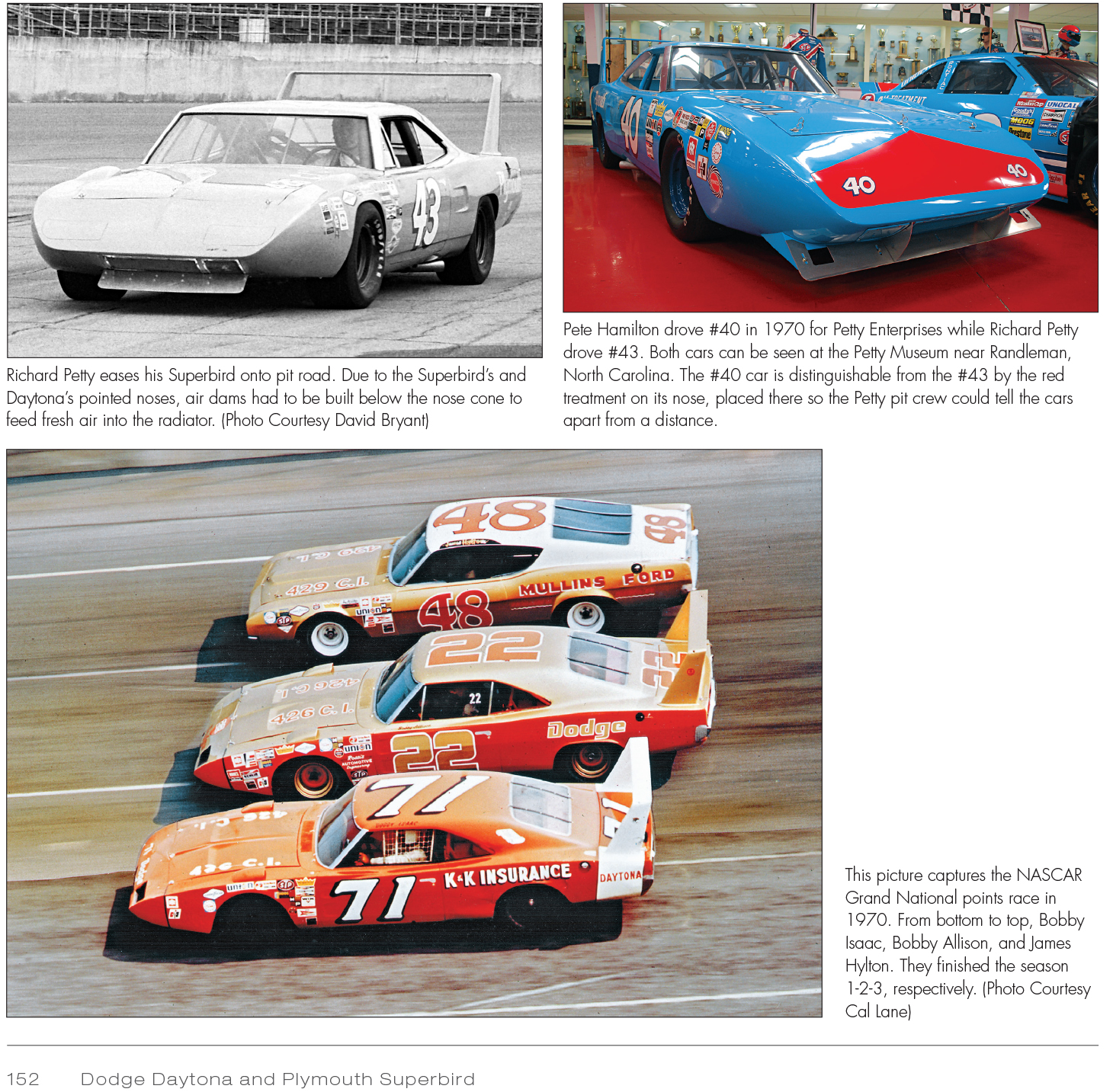 Dodge Daytona And Plymouth Superbird Design Development Production And Competition
