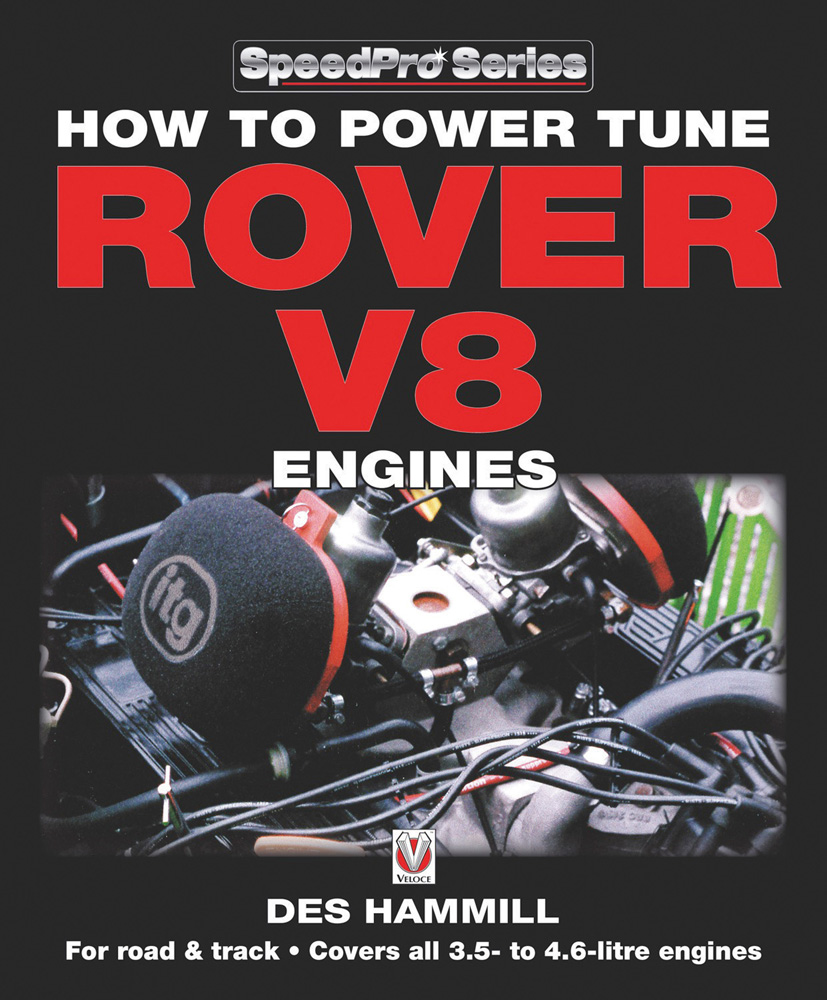 Sentinel Power Tune Rover V8 Engines BOOK MANUAL LAND ROVER MG BUICK HAMMILL