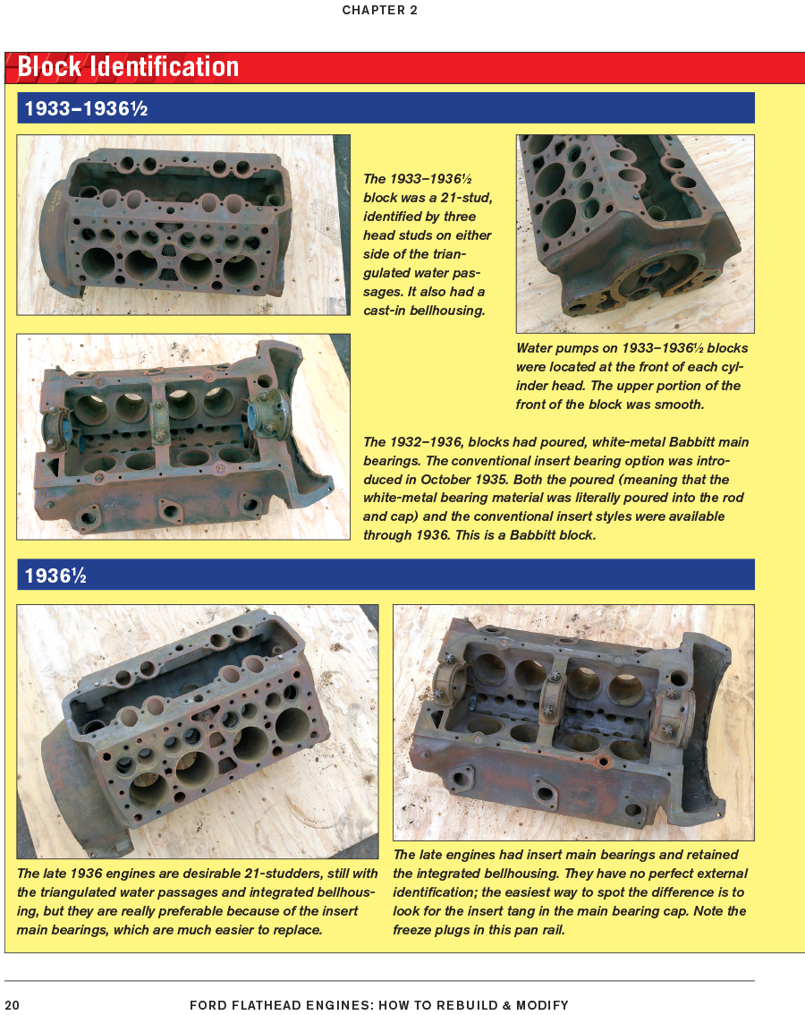 Details about Ford Flathead Engines How To Rebuild & Modify Manual Engine  Book