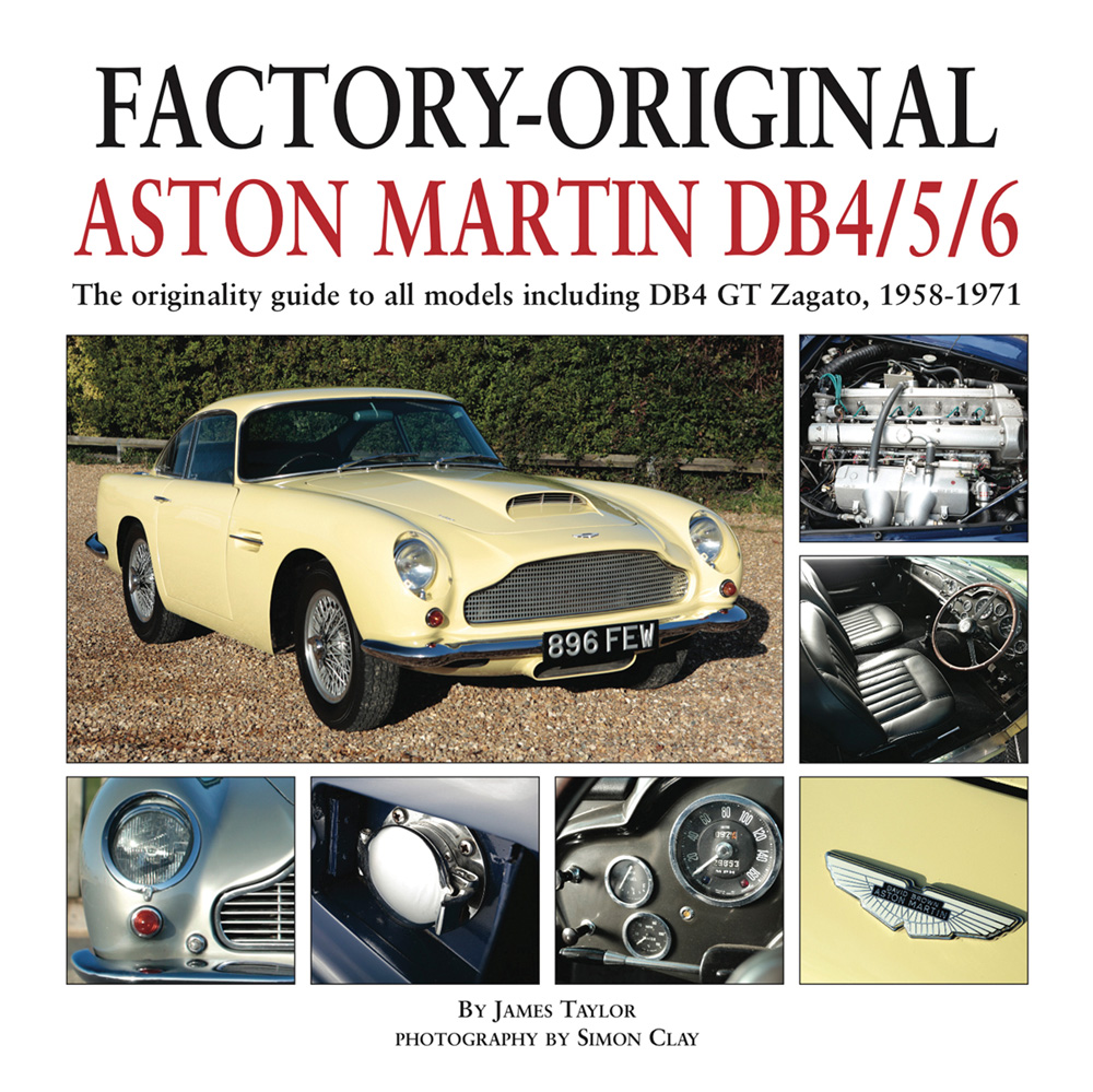 Factory Original Aston Martin Db4 Db5 Db6 Restoration