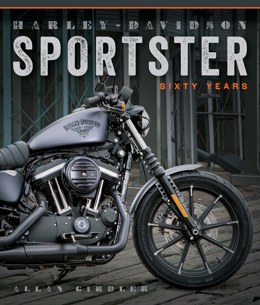 Sentinel Harley-Davidson Sportster XLCH XR1000 XLX 883 IRON FORTY-EIGHT  NIGHTSTER BOOK