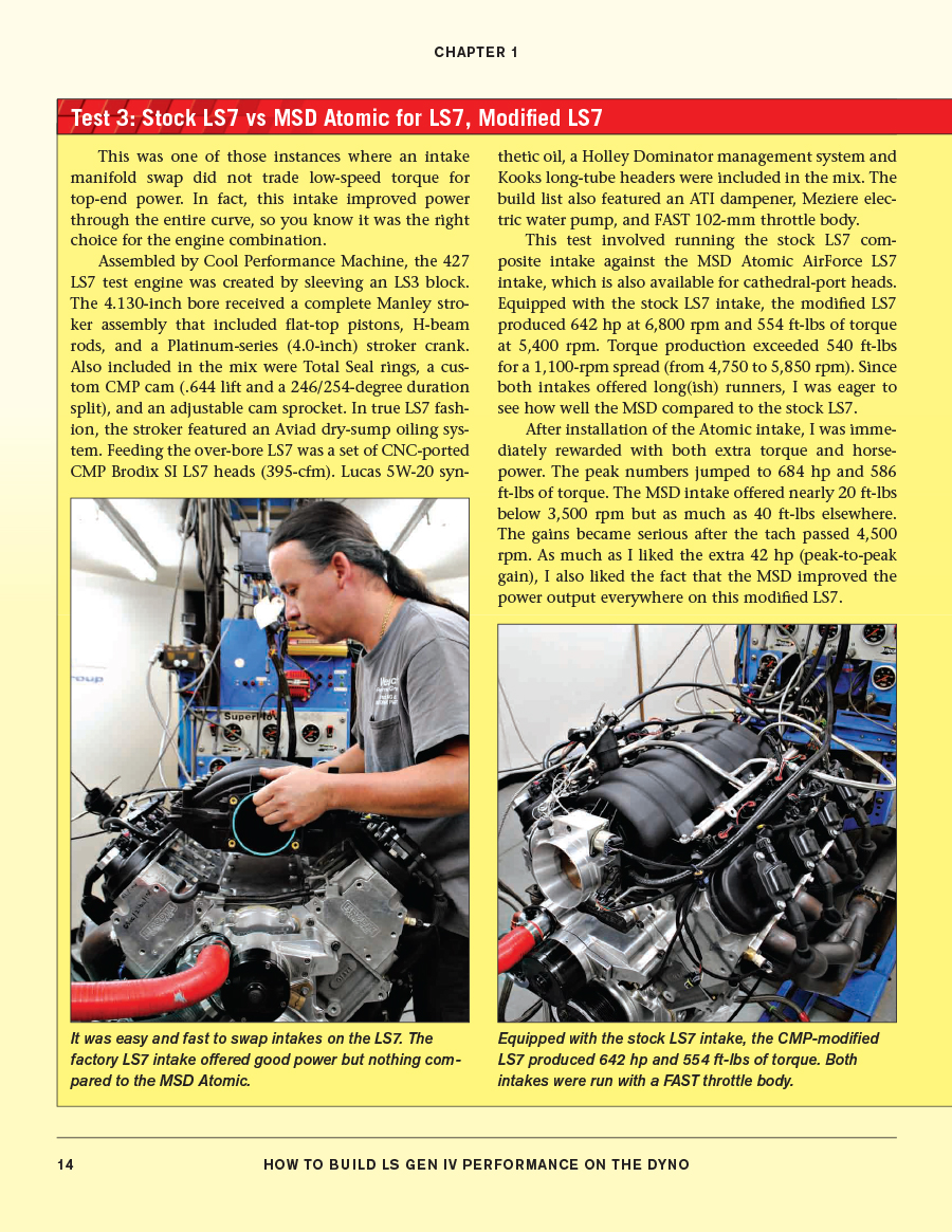 Sentinel LS GEN IV DYNO HOW TO BUILD ENGINE PERFORMANCE MANUAL BOOK CHEVY  CHEVROLET