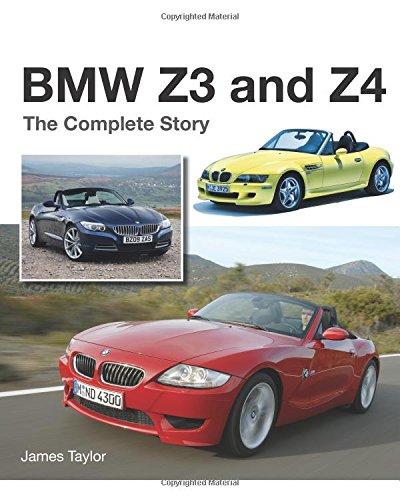 Bmw Z4 Old: Bmw Z3 Z4 Book Complete Story Taylor James