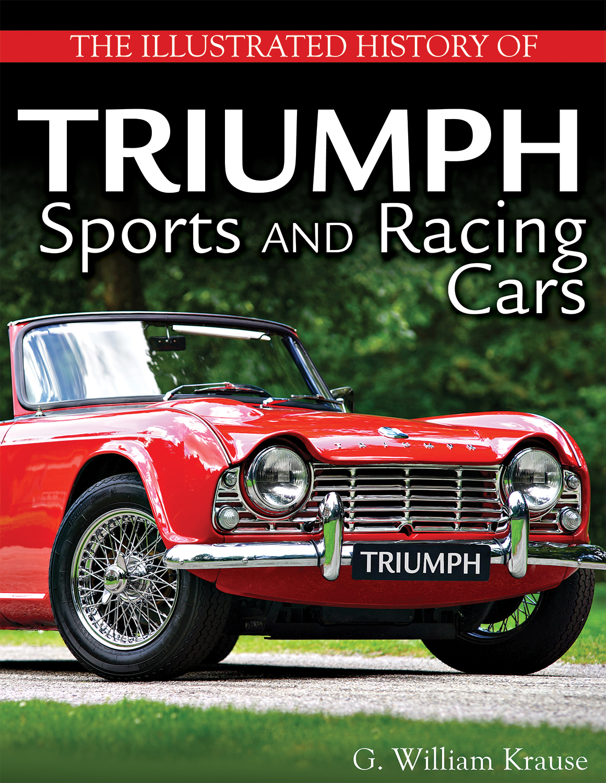 Triumph Book Krause Tr4 Tr6 Sports Racing Cars History Tr3 Tr8
