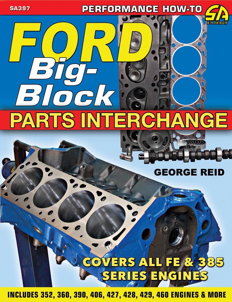 Sentinel ford big block parts interchange 352 360 392 406 427 428 429 460 fe mel 385