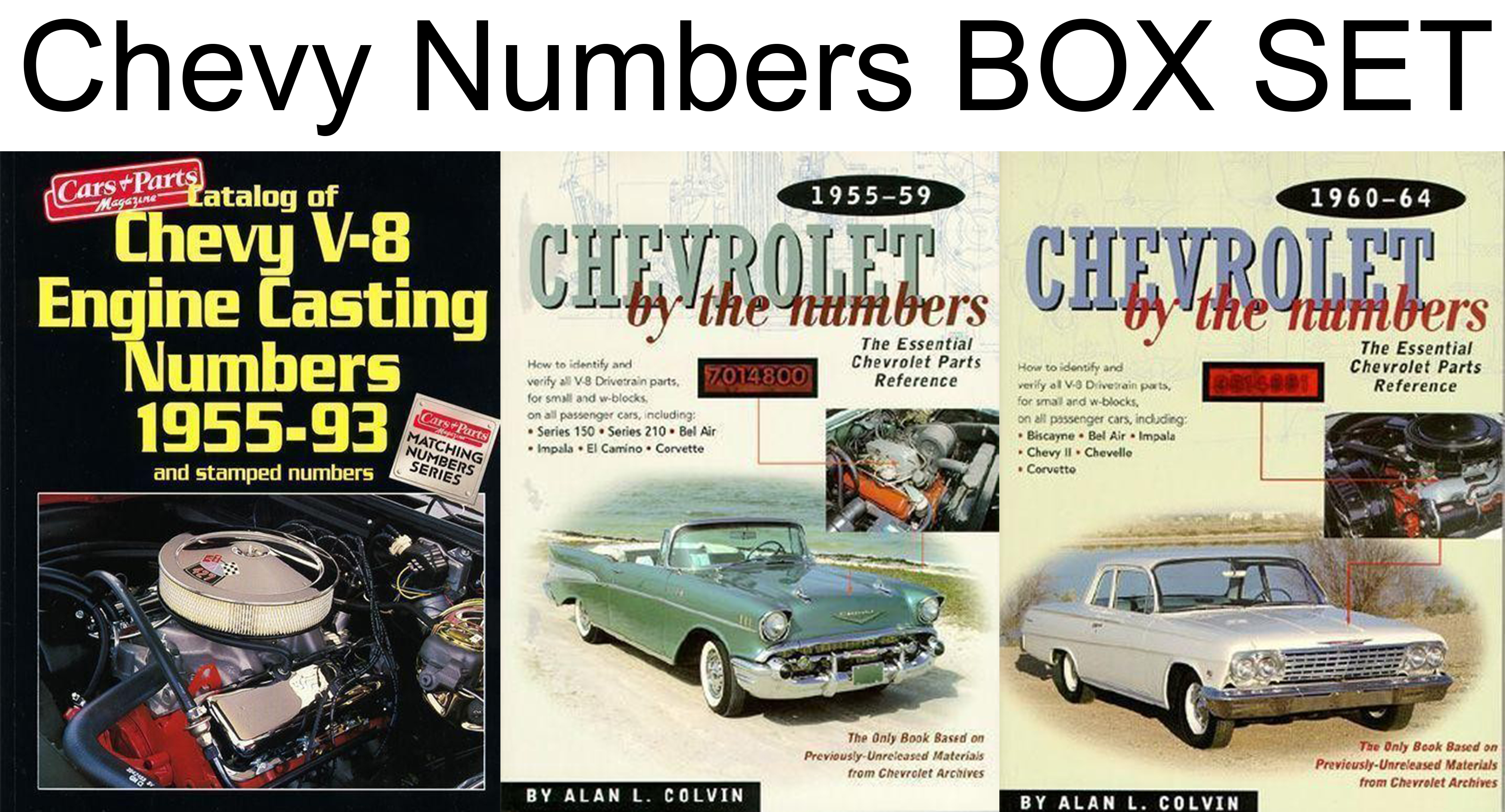 chevy v8 casting numbers