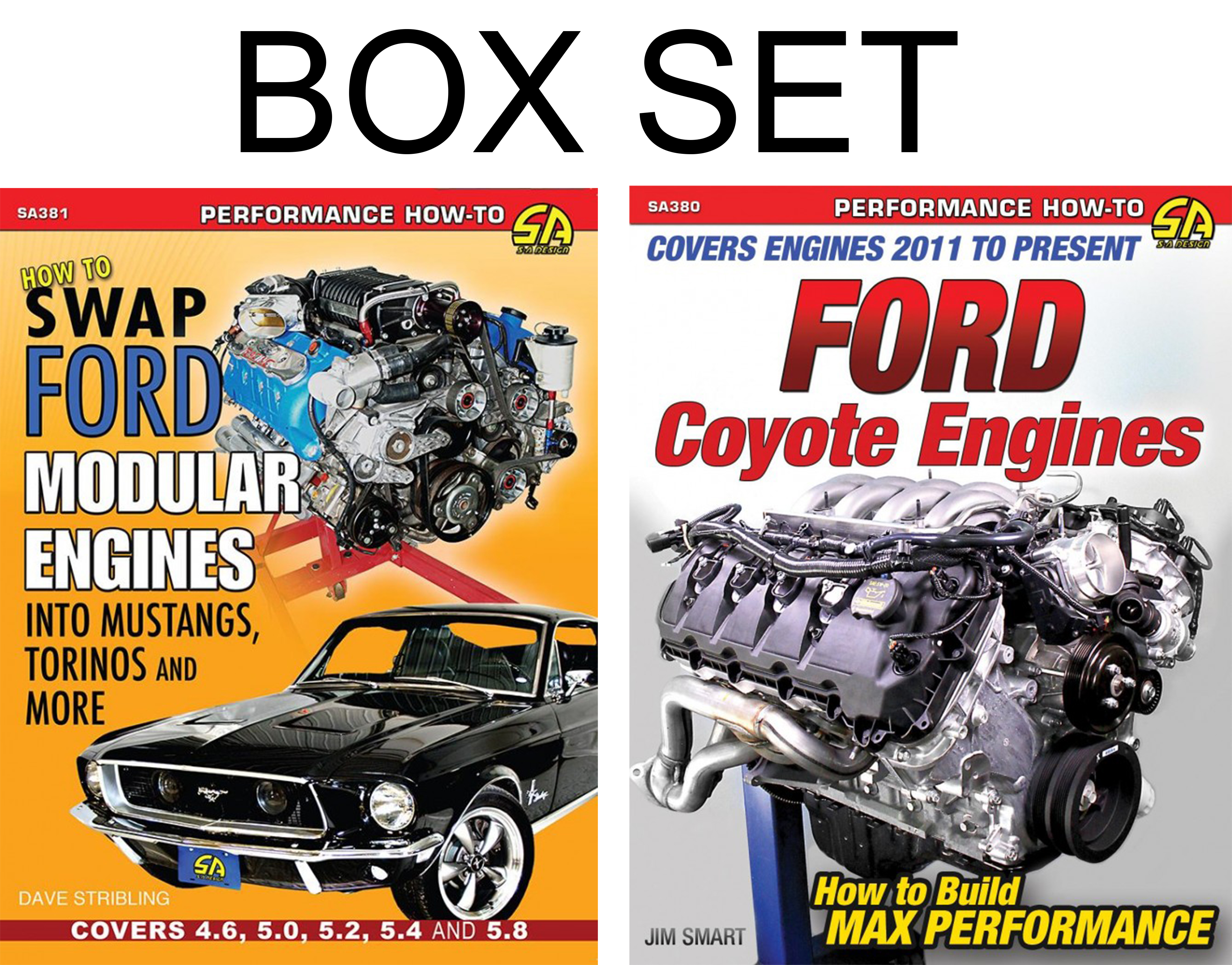 Sentinel ford mustang coyote engines how to swap ford modular engines book box set