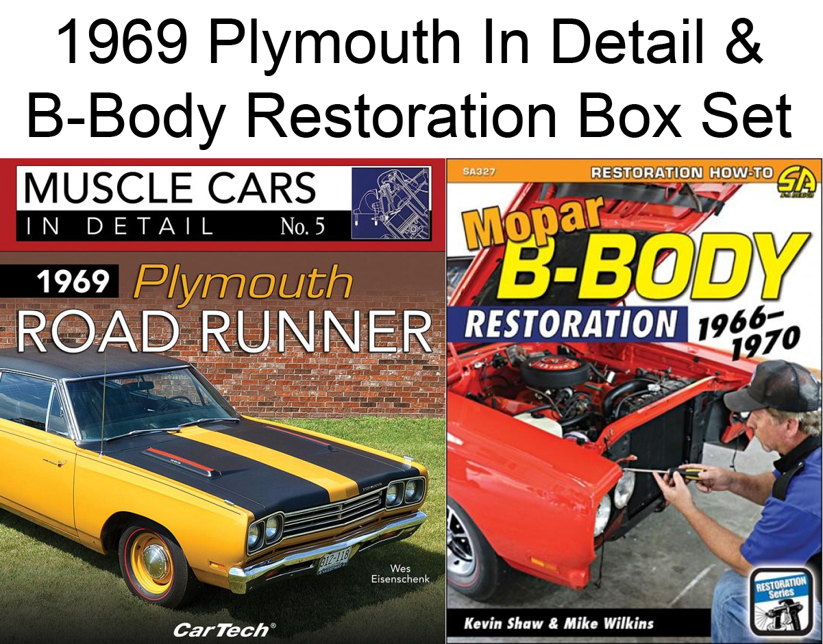 Details about Plymouth Road Runner 1969 & Mopar B-Body Restoration:  1966-1970 Book Set Charger