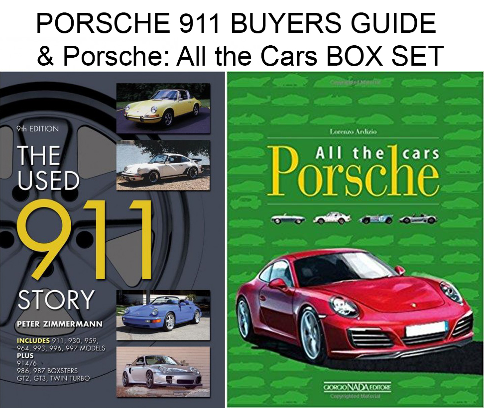 Porsche 911 Buyers Guide Porsche All The Cars Two Book Box Set Ebay
