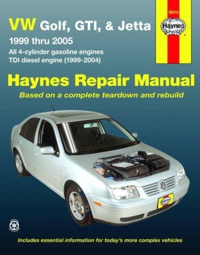 vw golf gti jetta repair workshop service manual book 99 05 rh ebay com Volkswagen Jetta MK4 Volkswagen Golf MK1
