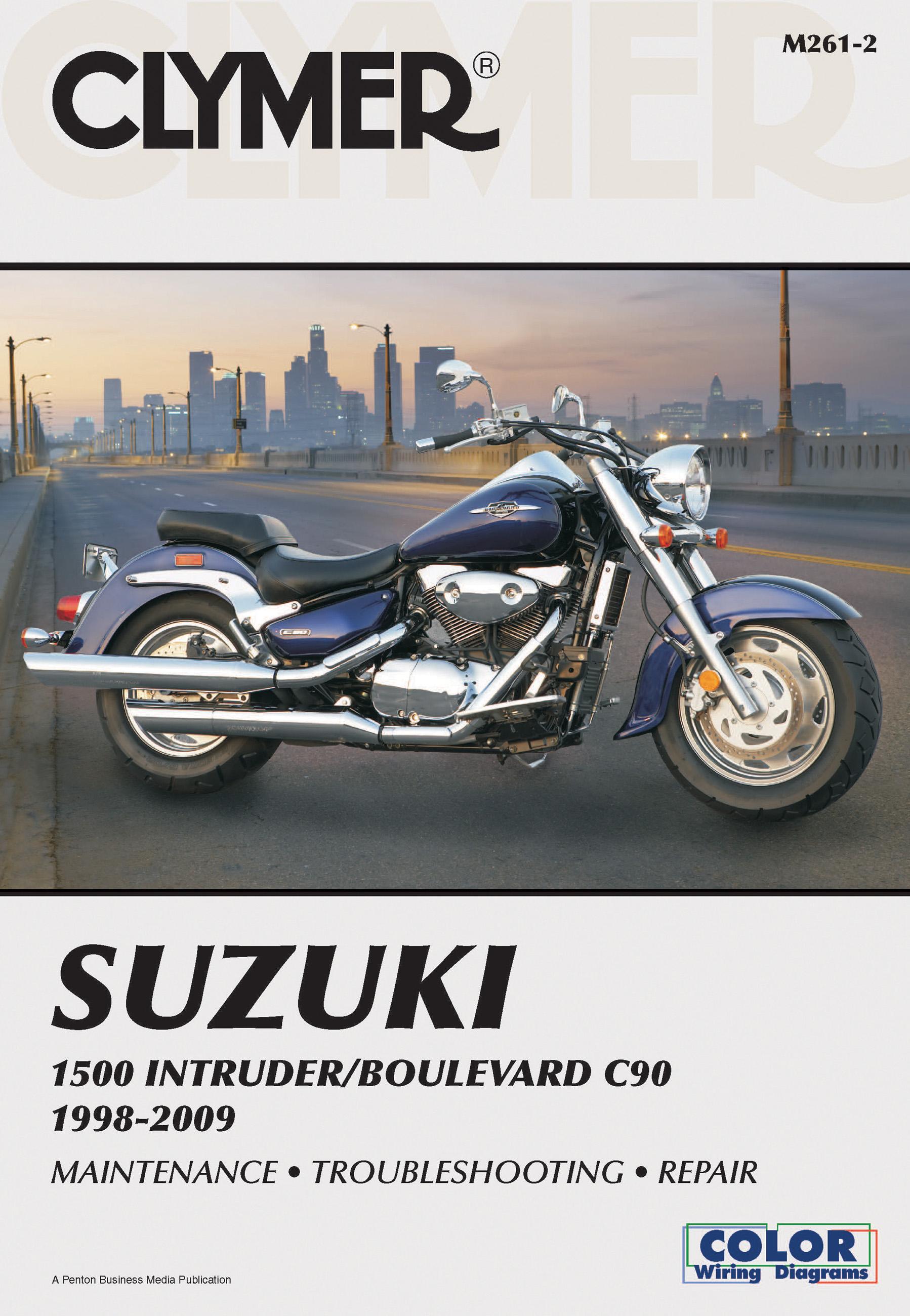 Suzuki 1500 Intruder  Boulevard C90 1998