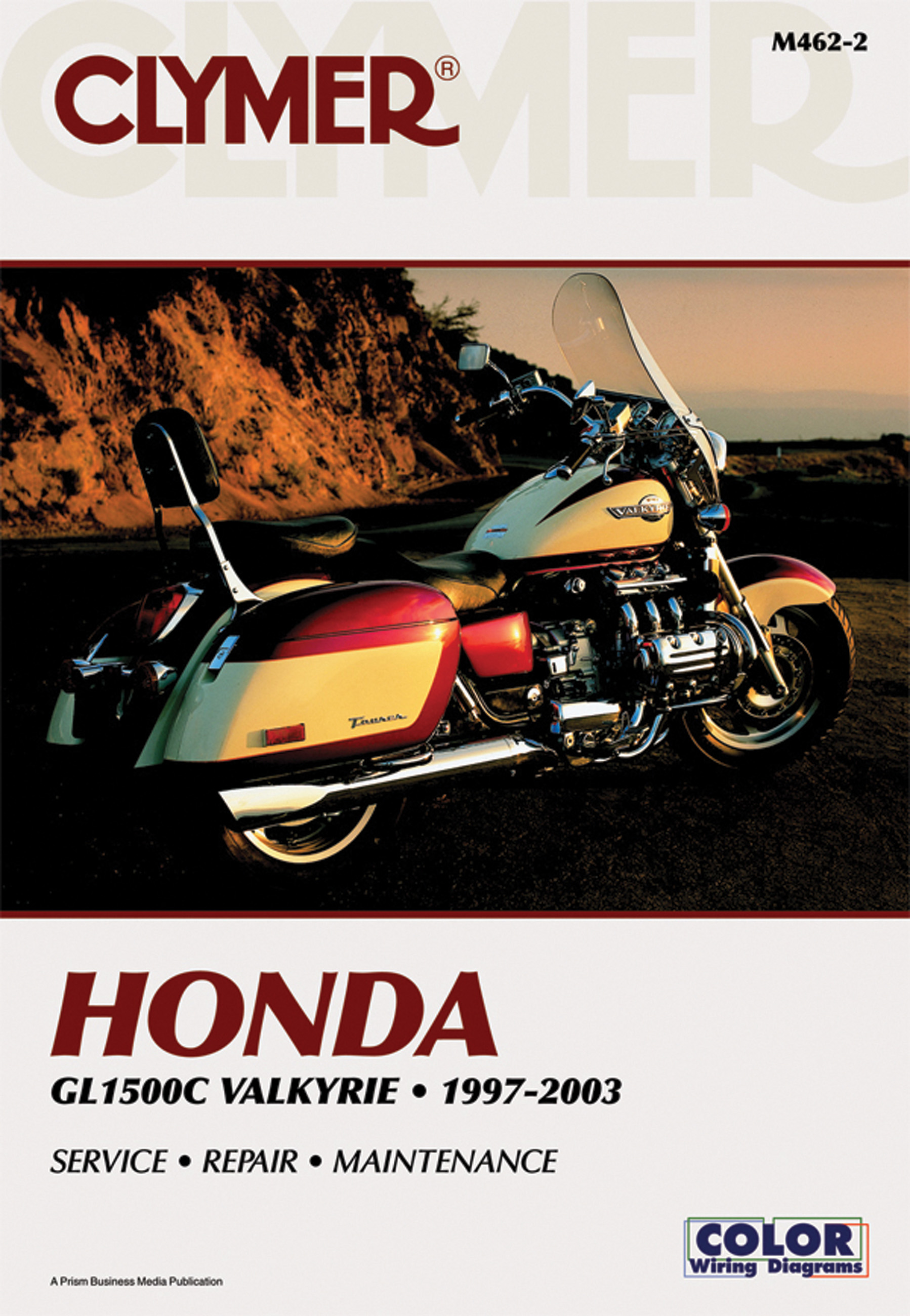 Honda Gl1500c Valkyrie Manual Service Shop Repair Clymer