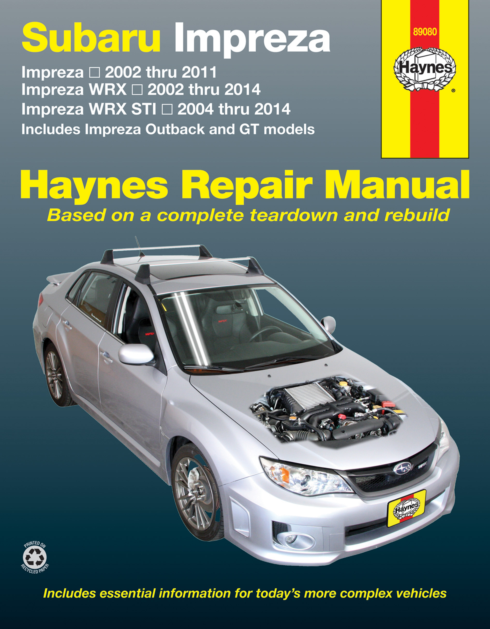 subaru impreza workshop repair service manual haynes chilton wrx wrx rh  ebay co uk subaru impreza service manual 2008 subaru impreza owners manual