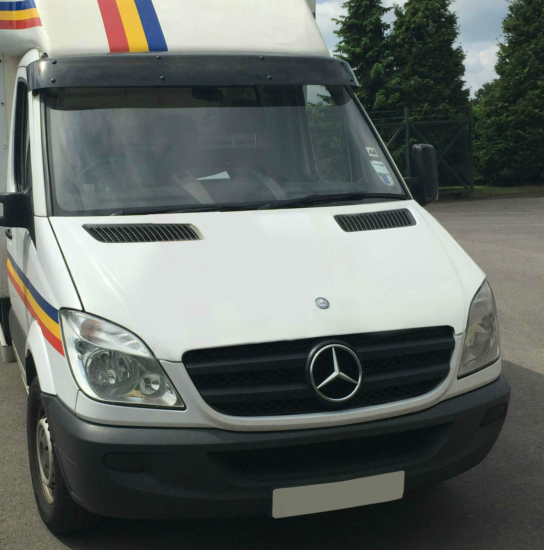Details about Exterior Black Sun Visor Solid Acrylic Shield for Mercedes  Sprinter (2006 on) 35c04b4560c