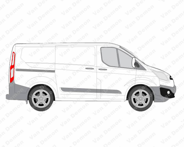 Rhino Modular Roof Rack For Ford Transit Custom 2013 On