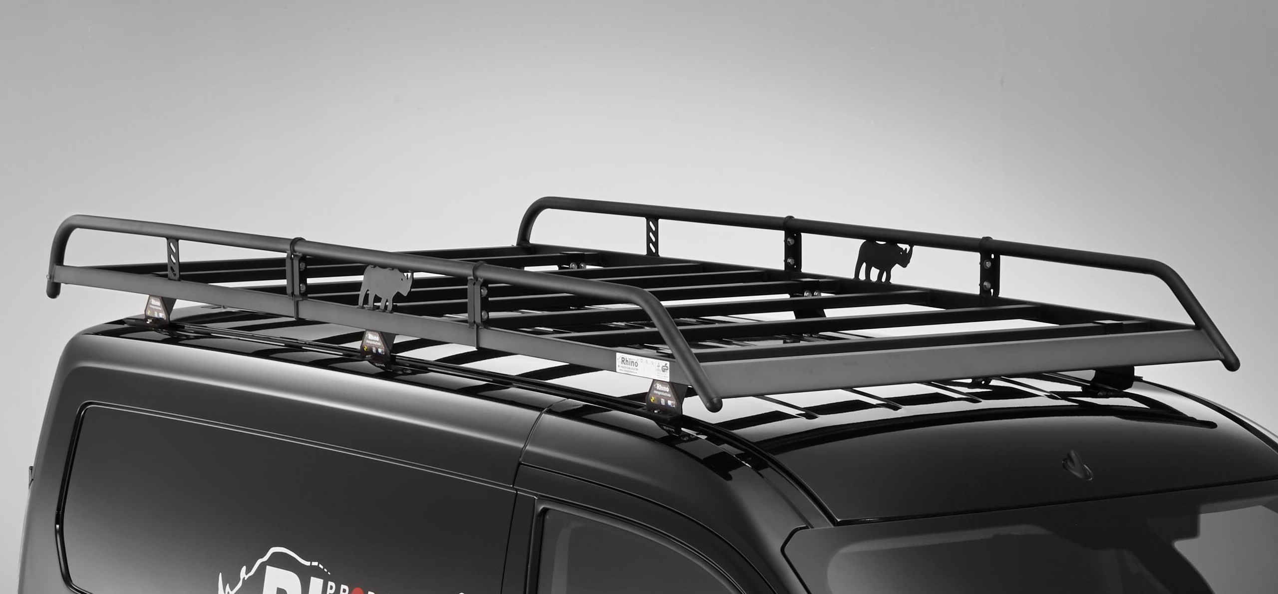Rhino Modular Roof Rack For Ford Transit Custom 2013 On Swb Barn Doors Ebay