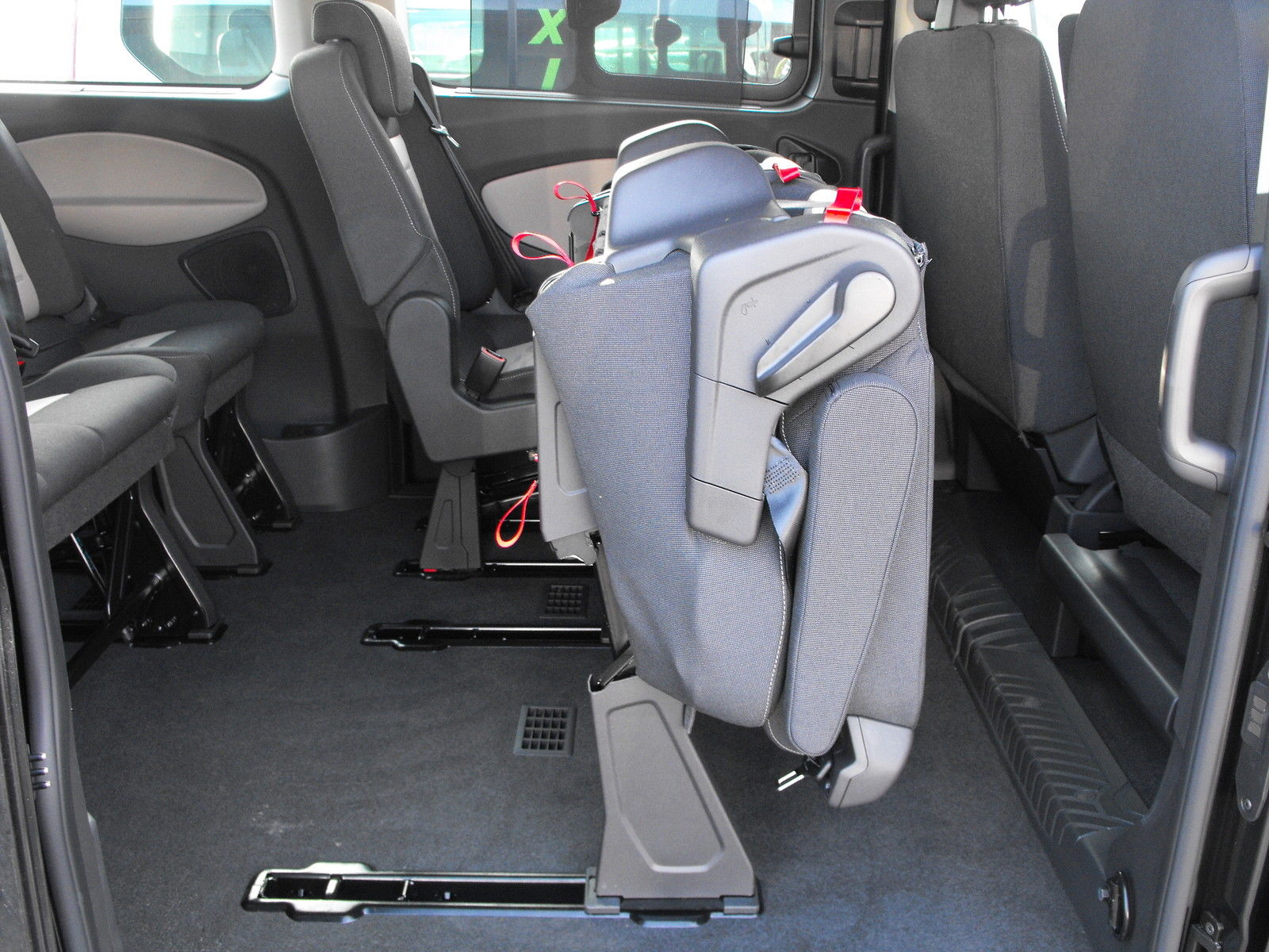 Transit Connect Rear Bench Seat