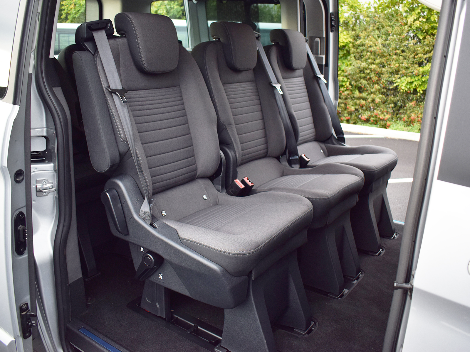 Details about Genuine OEM Folding Triple Rear Seats incl Belts Fixings for  Ford Transit Custom