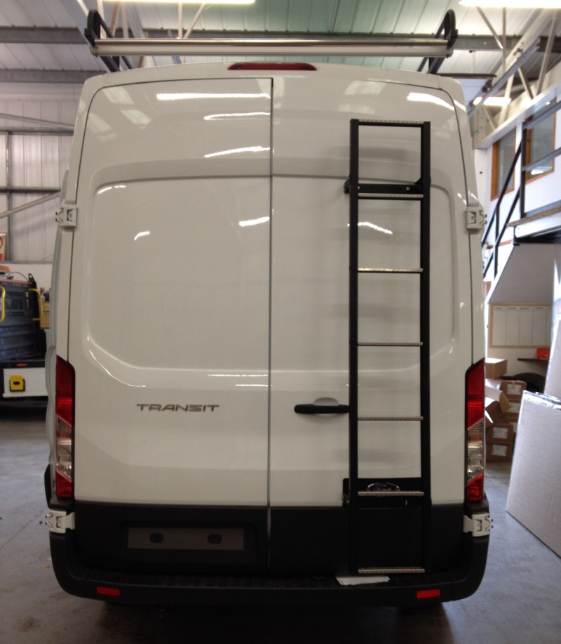 Van Guard Galvanised 7 Step Rear Door Ladder For Ford