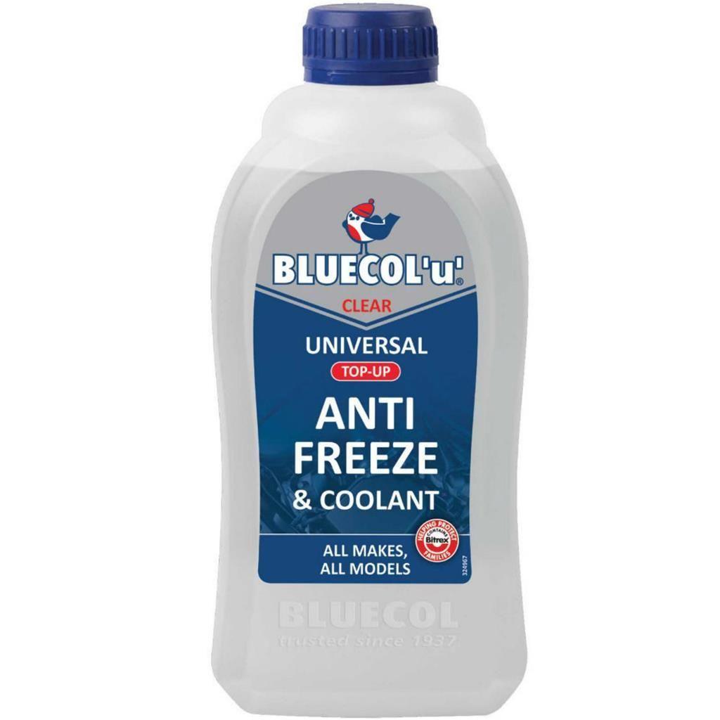 Bluecol U Universal Antifreeze Clear Anti Freeze Coolant