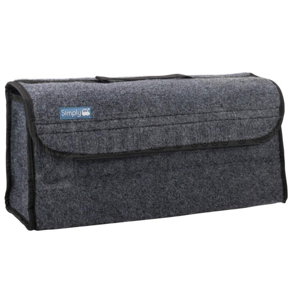sentinel car van grey carpet boot storage bag organiser tools breakdown travel tidy large