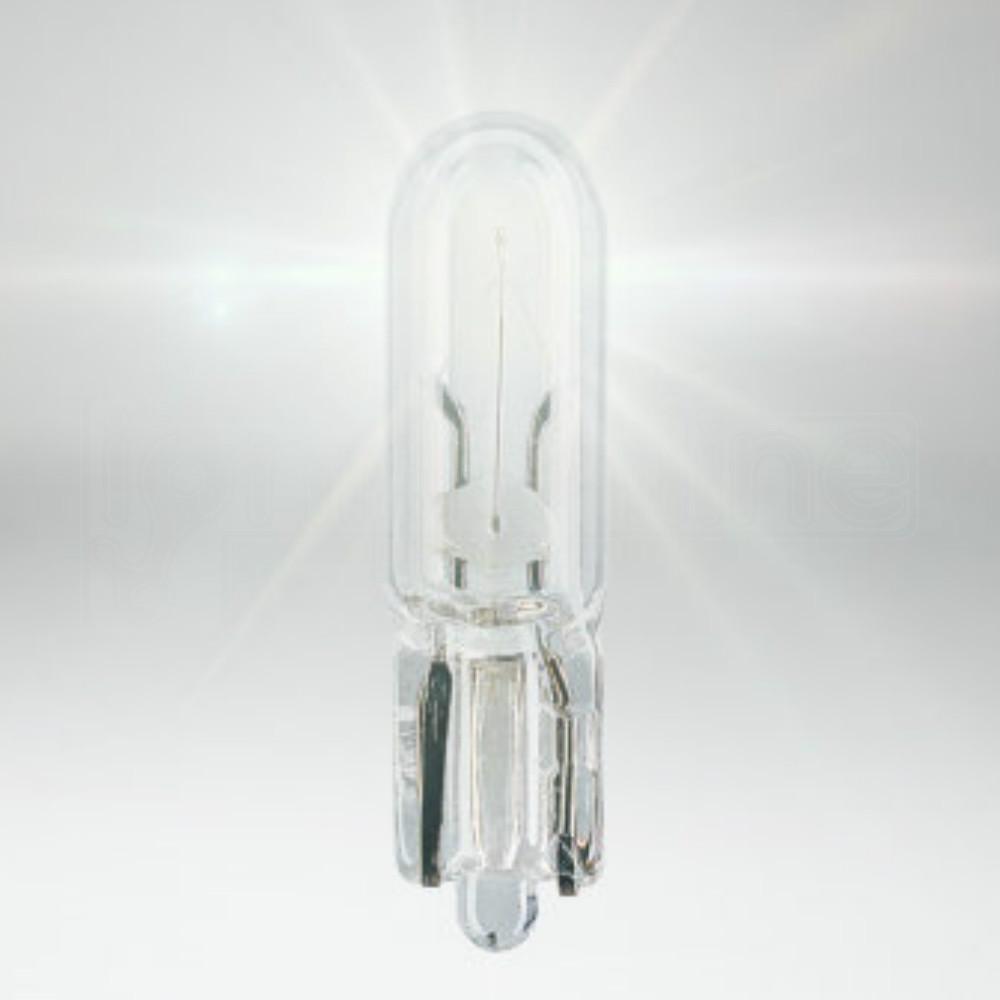 2 X 286 Amber 12V 1.2W Car Panel Dashboard Light Miniature Capless Bulbs W2x4.6D
