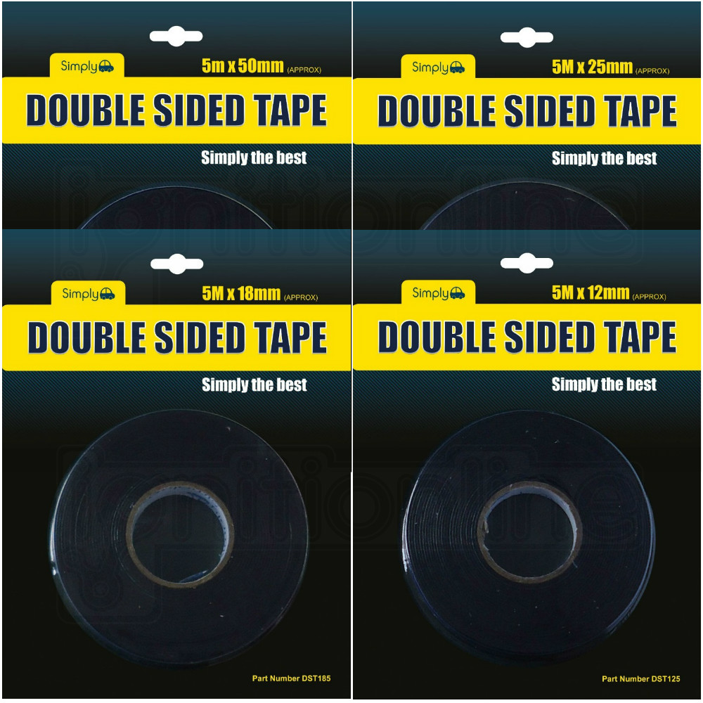 Double Sided Tape Self Super Strong Adhesive Mounting Foam Car Trim Plate