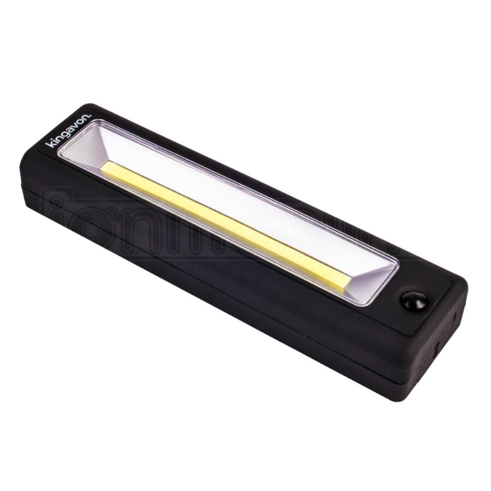 Ultra Bright 3W COB LED Work Light Torch Magnet Workshop Garage Hanging Hook