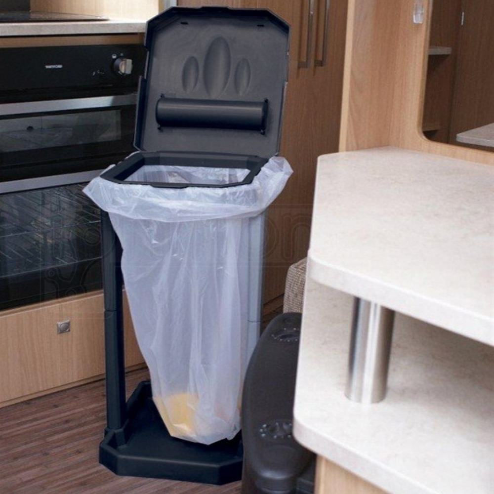Camping Festival /& Travel Folding Compact Snap Together Eco Rubbish Bin Liners