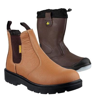 Amblers Rigger & Dealer Boots